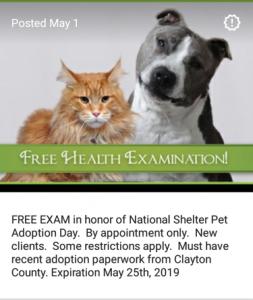 free-exam ad